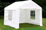 Partytent 3 x 3 m € 65,- per weekend